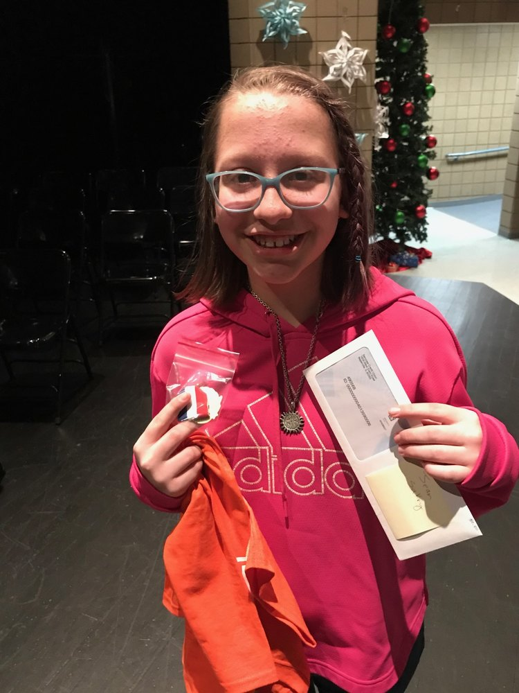 District Spelling Bee Winner - Ramona Lurken-Tvrdik