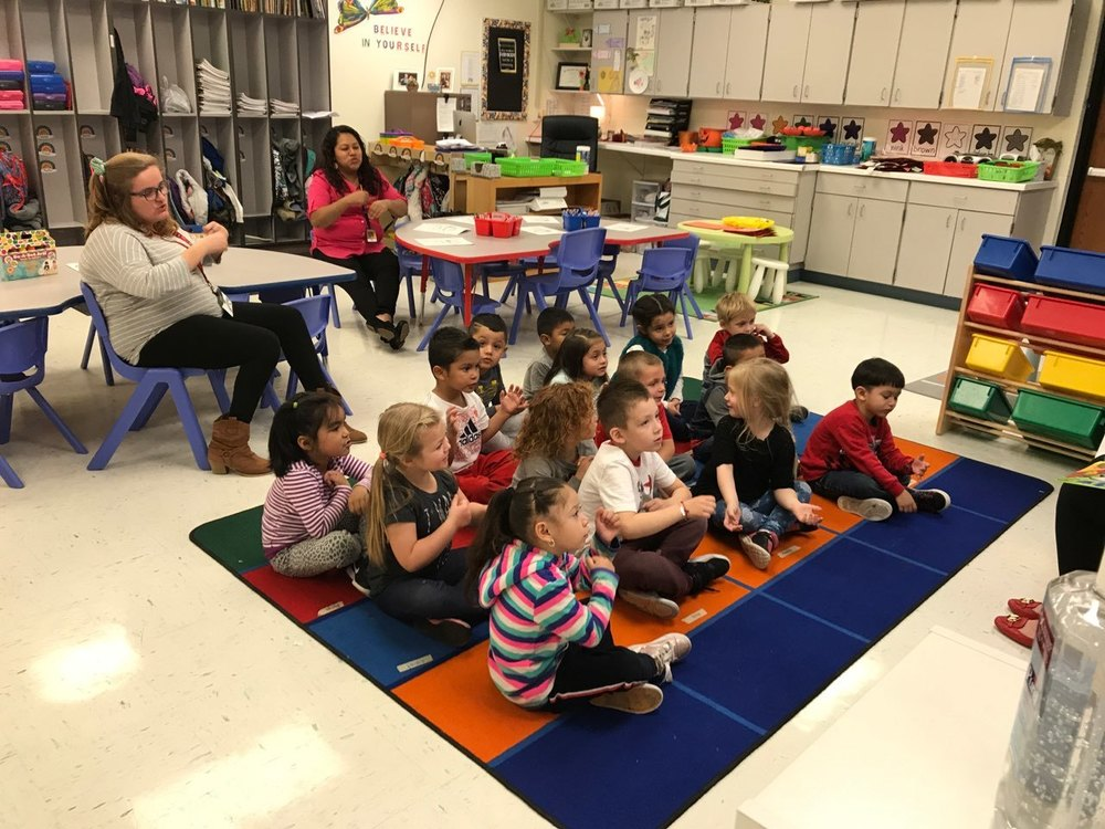 Melrose Preschoolers benefit from our Reading Corps Tutor