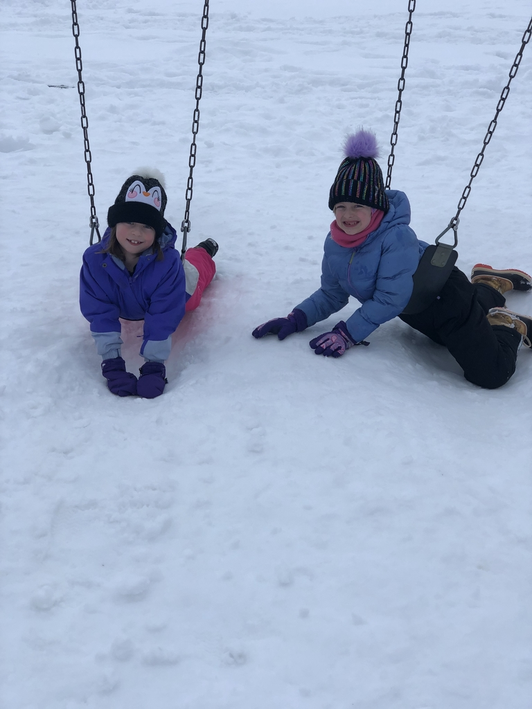 "We will hopefully be ""swinging"" into spring soon!"