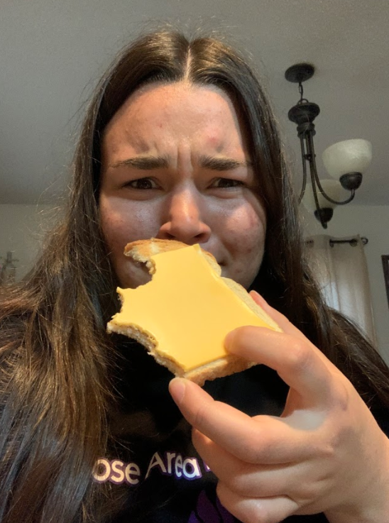 Vanessa Pung- cheese on bread